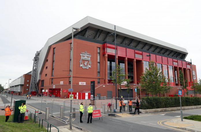 Anfield, stade de Liverpool