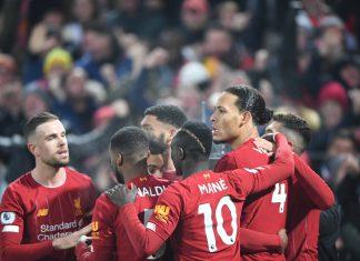 Liverpool, la joie des joueurs