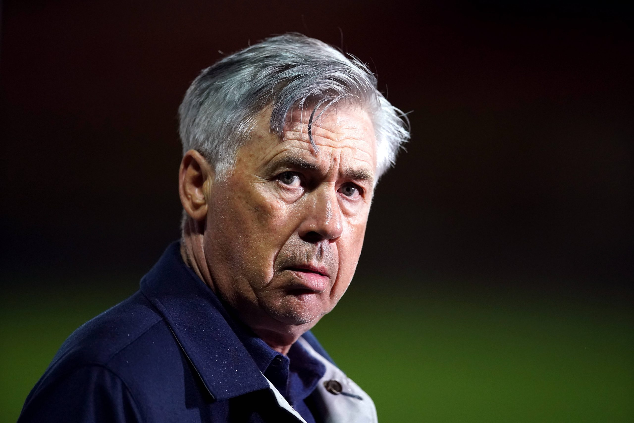 Carlo Ancelotti manager d'Everton
