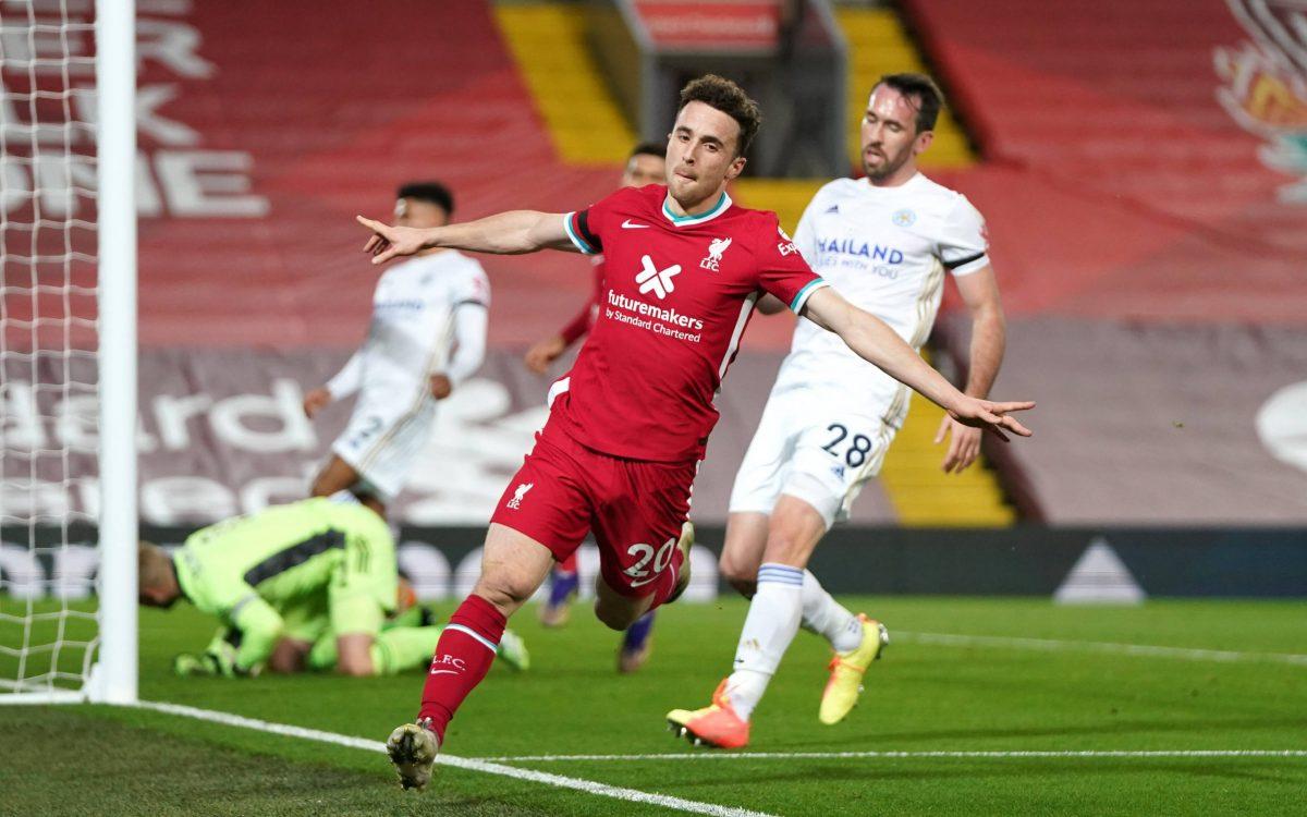 Diogo Jota buteur pour Liverpool
