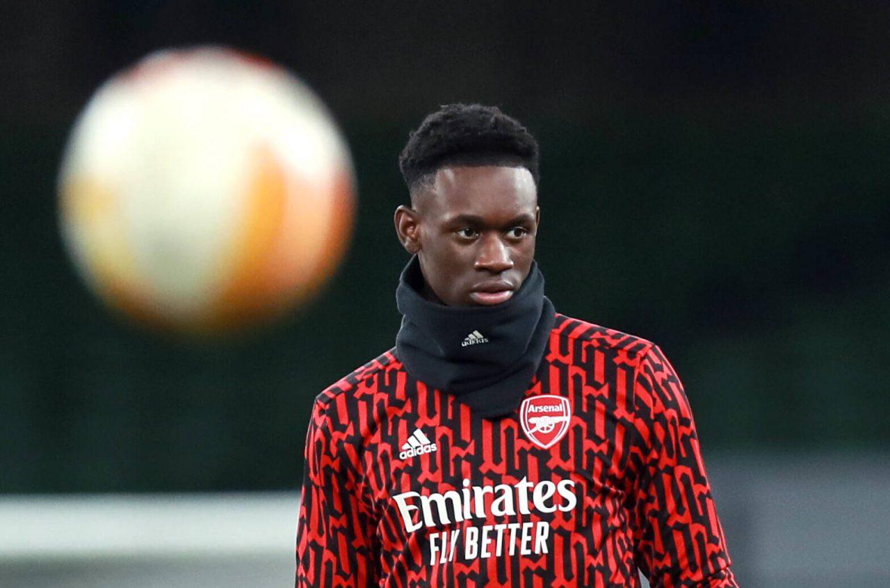 Folarin Balogun, attaquant d'Arsenal