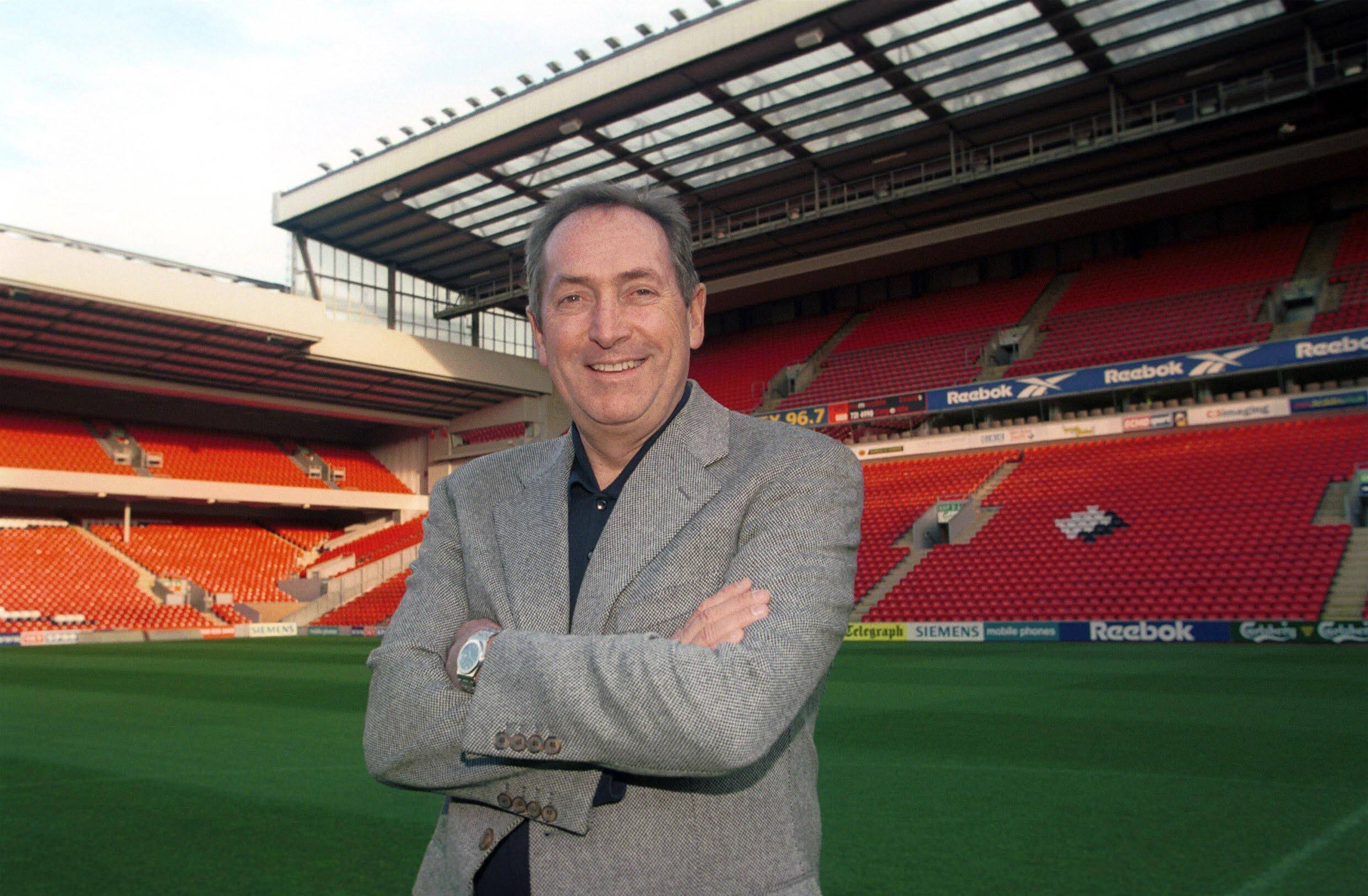 Gérard Houllier Anfield Liverpool