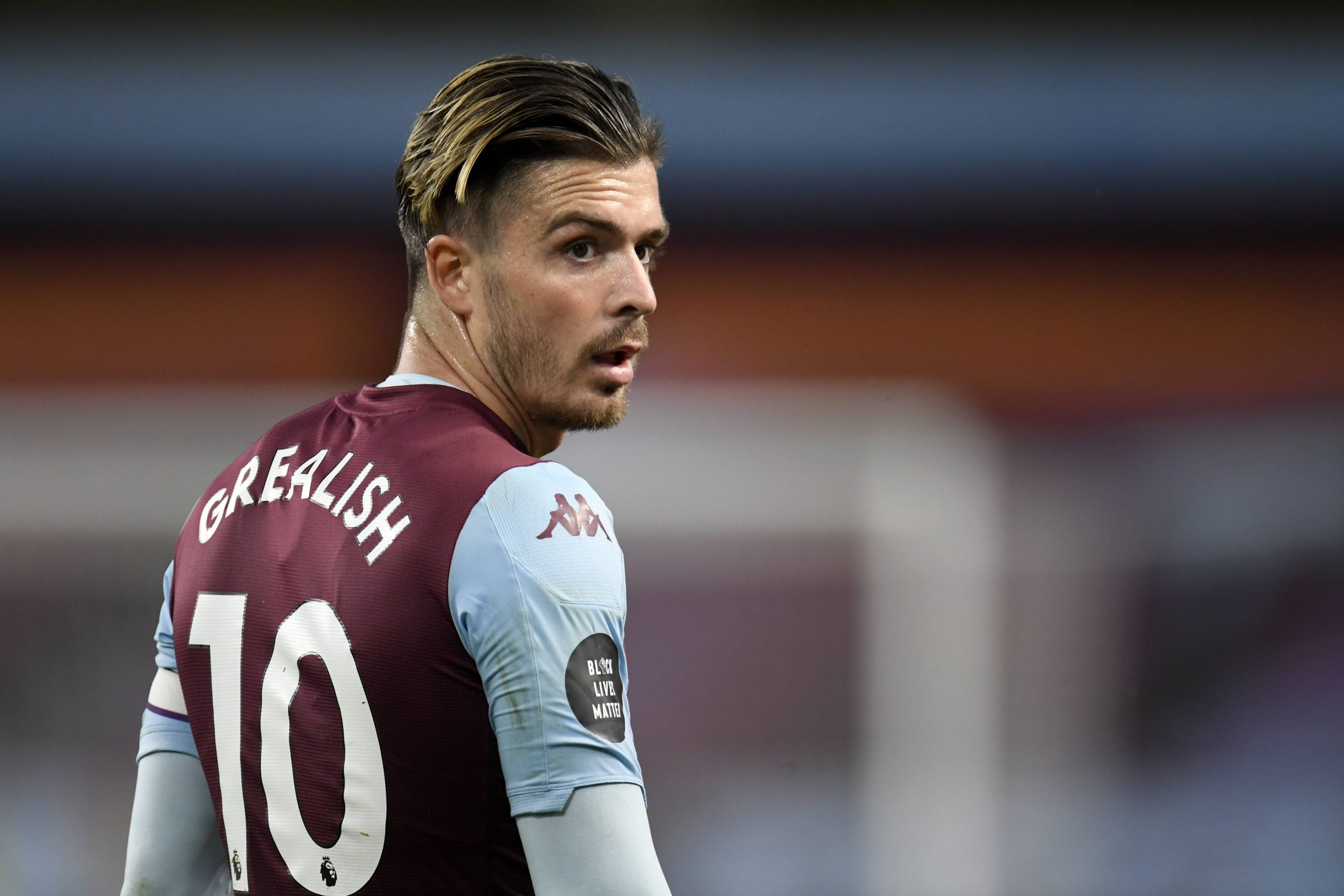 Jack Grealish, le milieu offensif d'Aston Villa