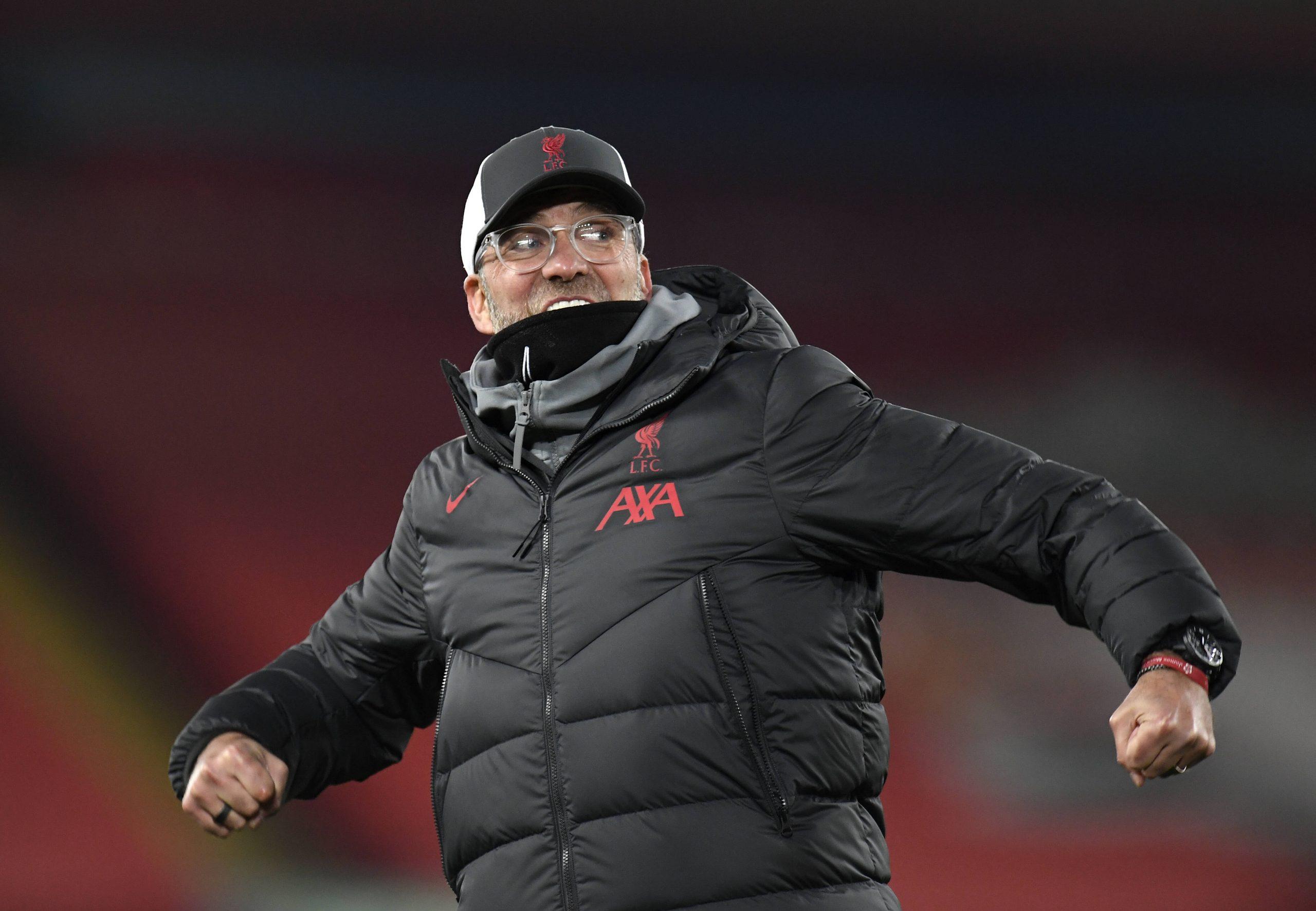 Jürgen Klopp heureux