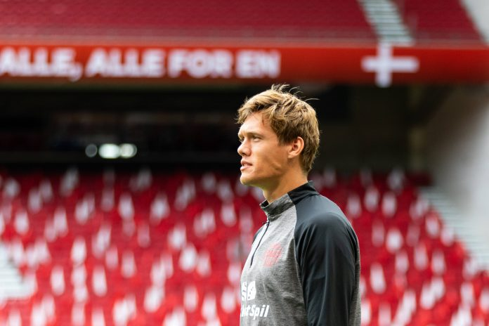 Jannik Vestergaard, défenseur de Southampton
