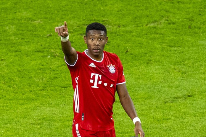 David Alaba, défenseur du Bayern Munich