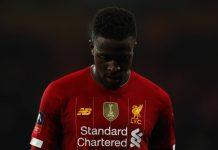 Divock Origi, attaquant de Liverpool