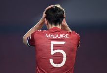 Harry Maguire, défenseur de Manchester united