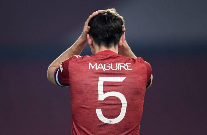 Harry Maguire, défenseur de Manchester united