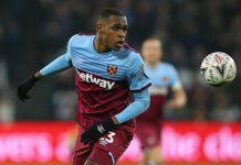 Issa Diop, défenseur de West Ham