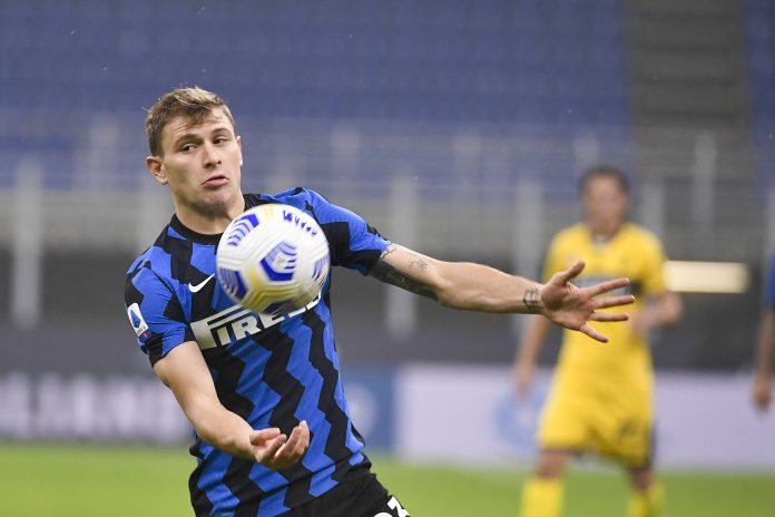 Nicolo Barella, milieu de terrain de l'Inter Milan