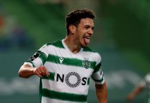 Pedro Goncalves, attaquant du Sporting Portugal