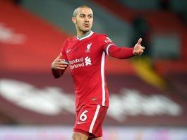 Thiago Alcantara, milieu de terrain de Liverpool