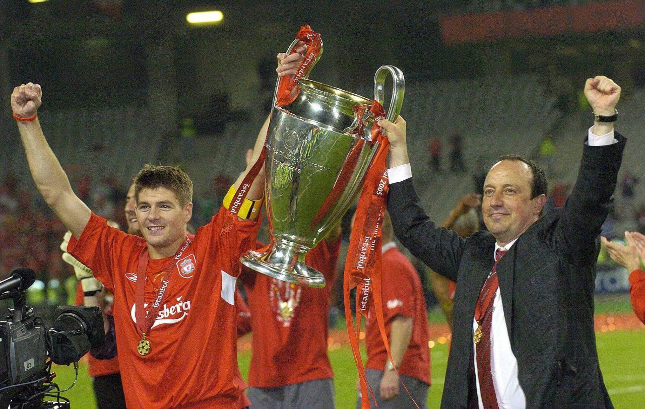 Rafael Benitez et Steven Gerrard, Liverpool