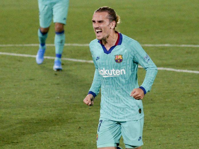 Antonie Griezmann, l'attaquant du FC Barcelone