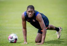 Ibrahima Konate se prépare avec Liverpool