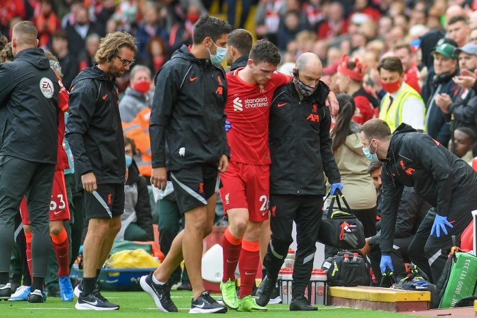Andy Robertson blessure liverpool