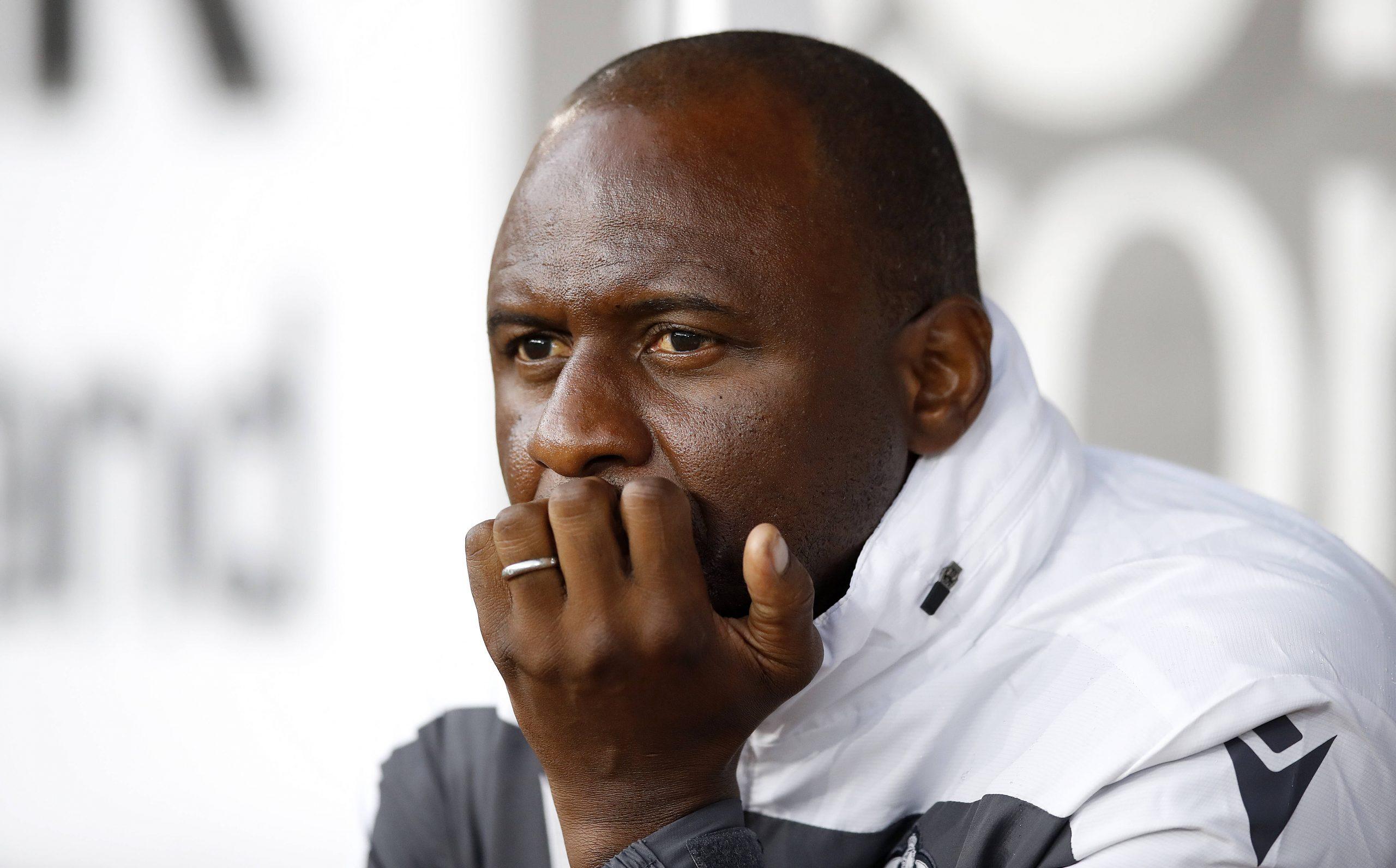 Patrick Vieira manager de Crystal Palace