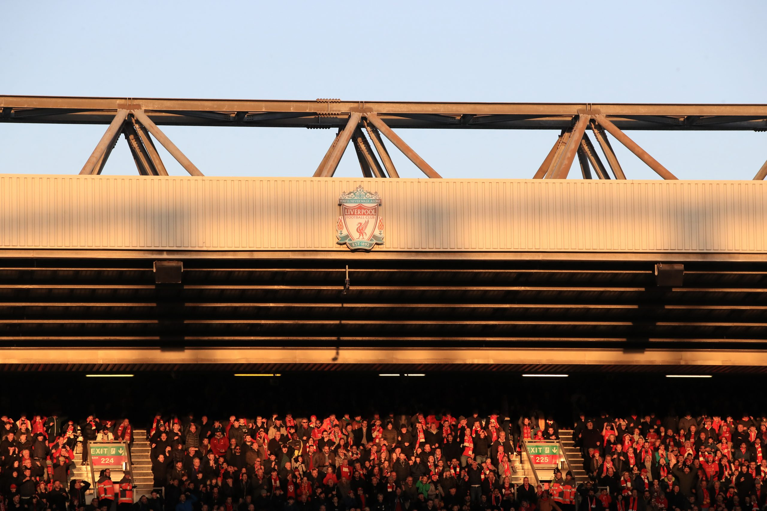 Anfield Road Stand du Liverpool FC